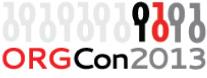ORGcon 2013 logo